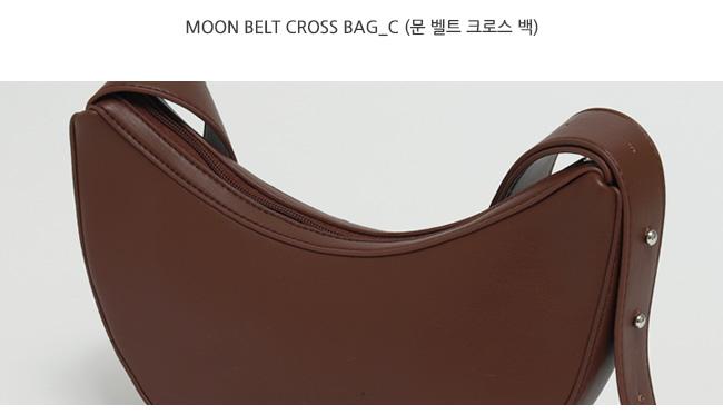 Moon belt cross bag_C