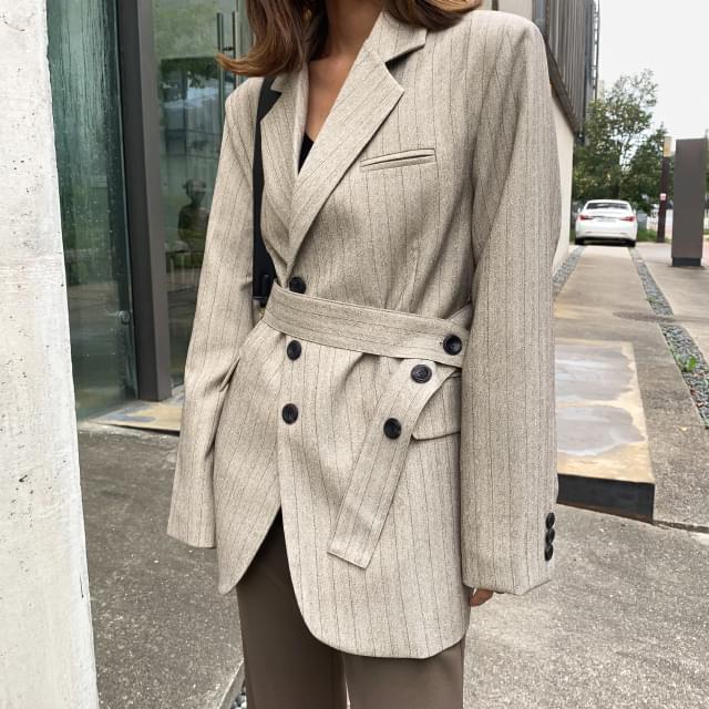 Manish strap set jacket-jk