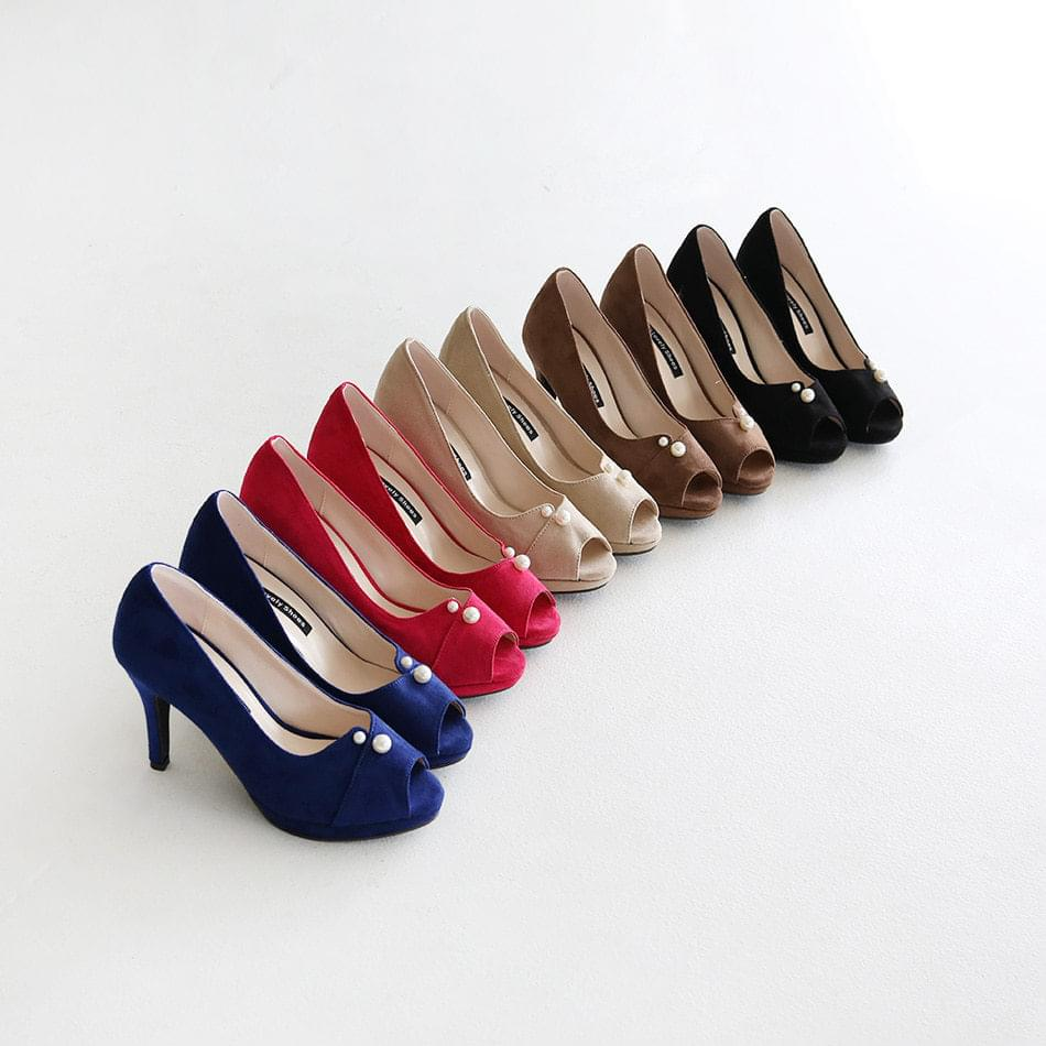 Remuse Open Toe Gaboshi High Heels 9cm