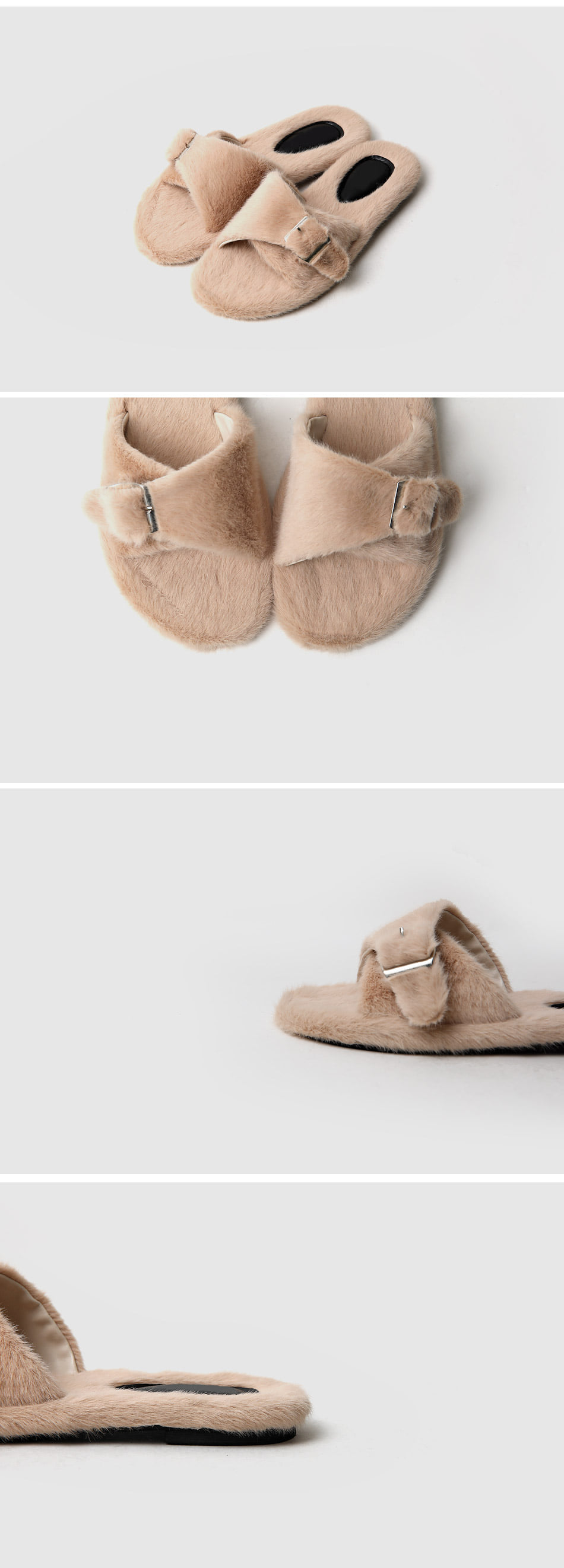 Paley Fur Slippers 1cm