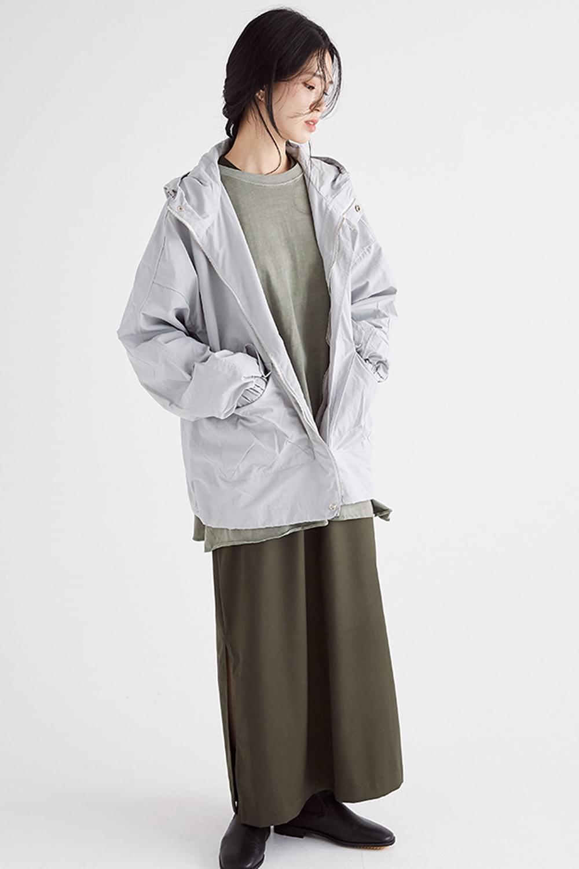 faintly texture hoody jumper (2colors)