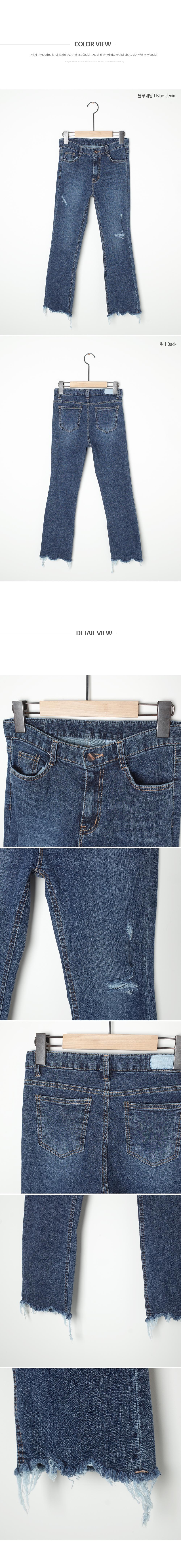 Ripped Charm Pants