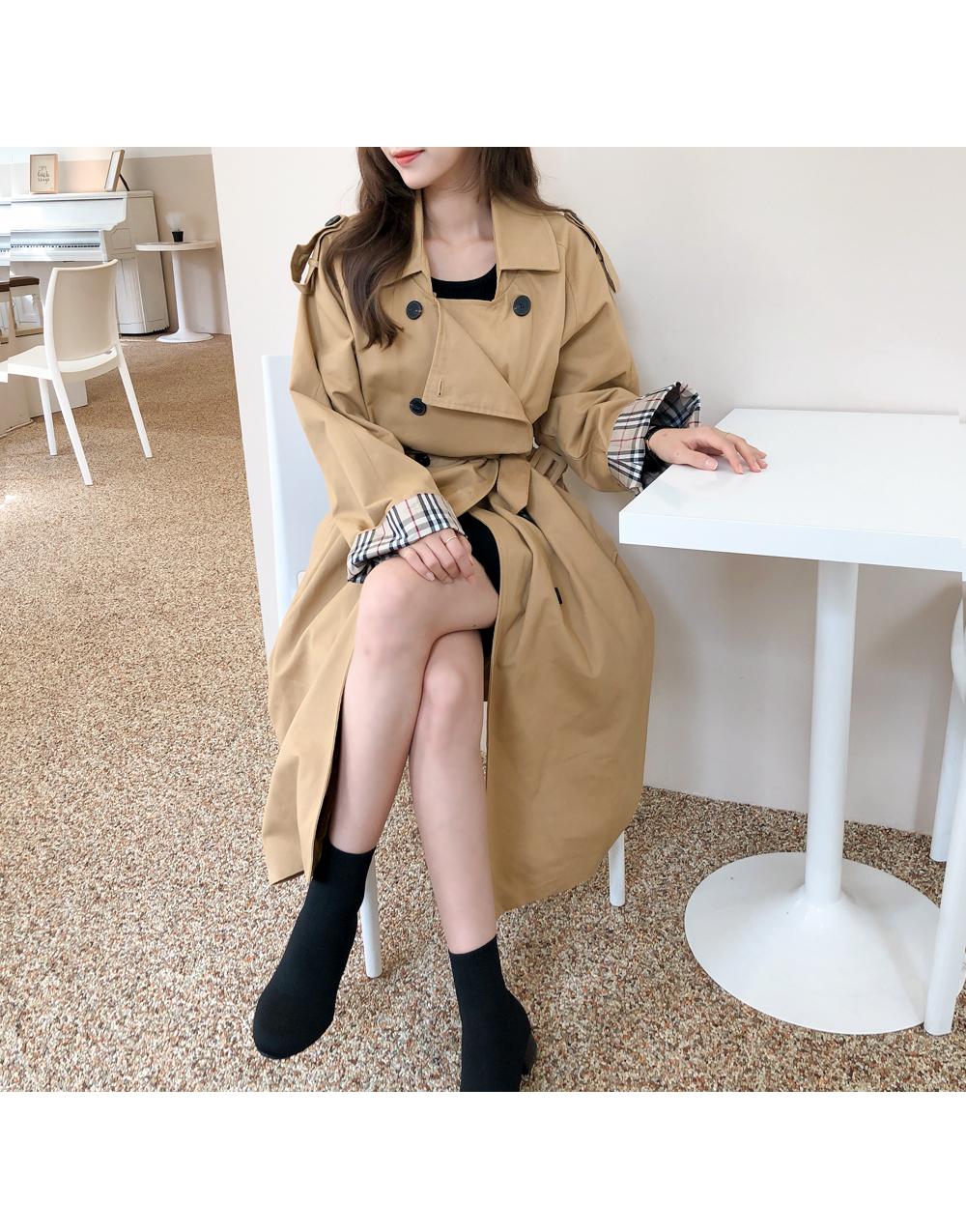 Basic classic mood trench coat