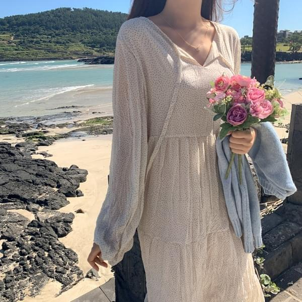 Laurent Dot Dress