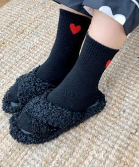 韓國空運 - Band Hearts Socks 襪子