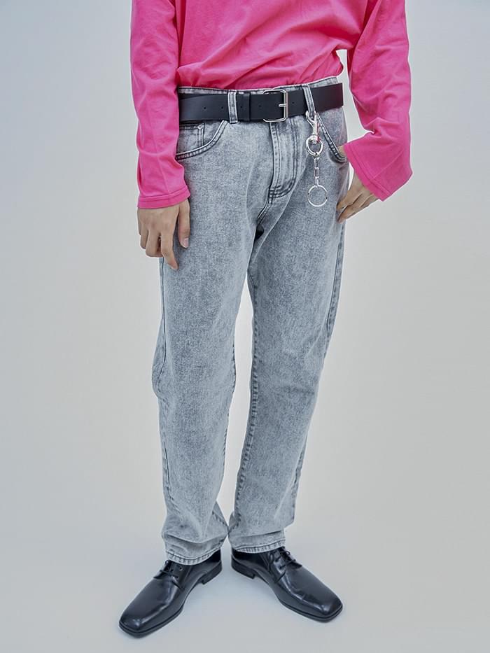 gray snow jeans - men