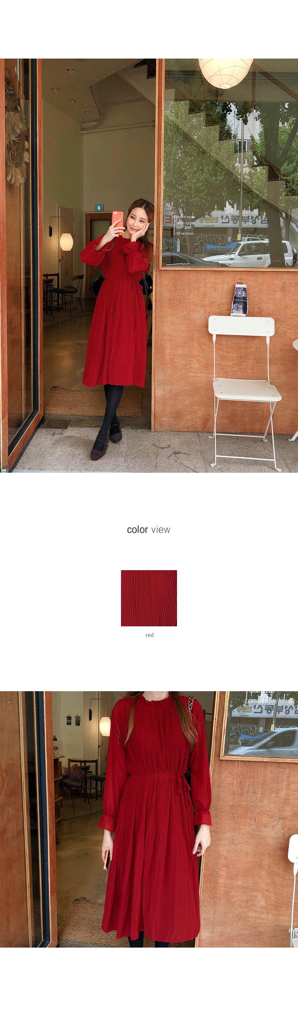 Rose like color dress