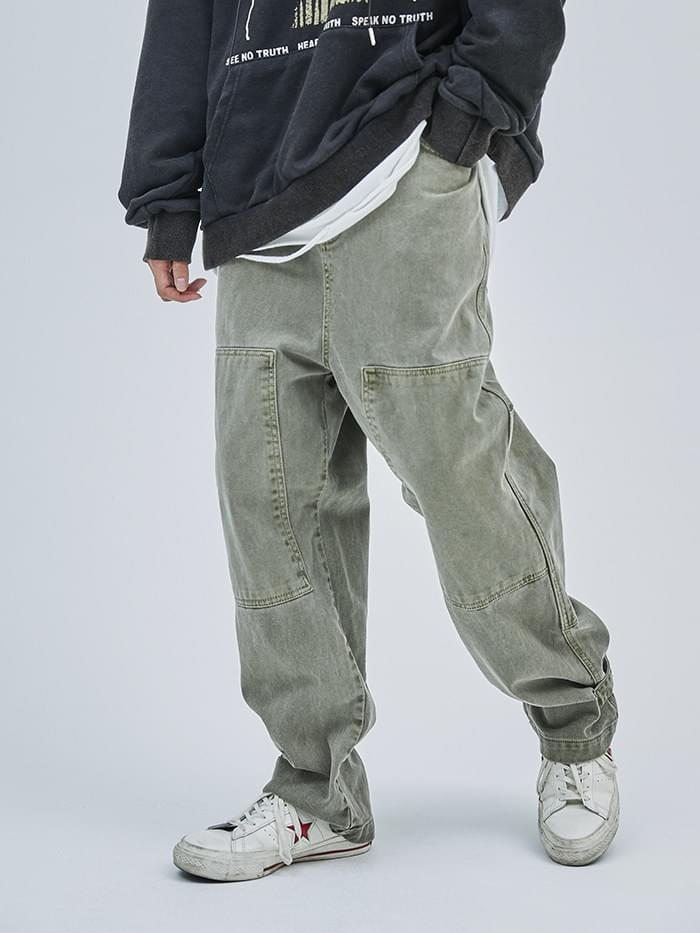 pigment banding pants (3 color) - men