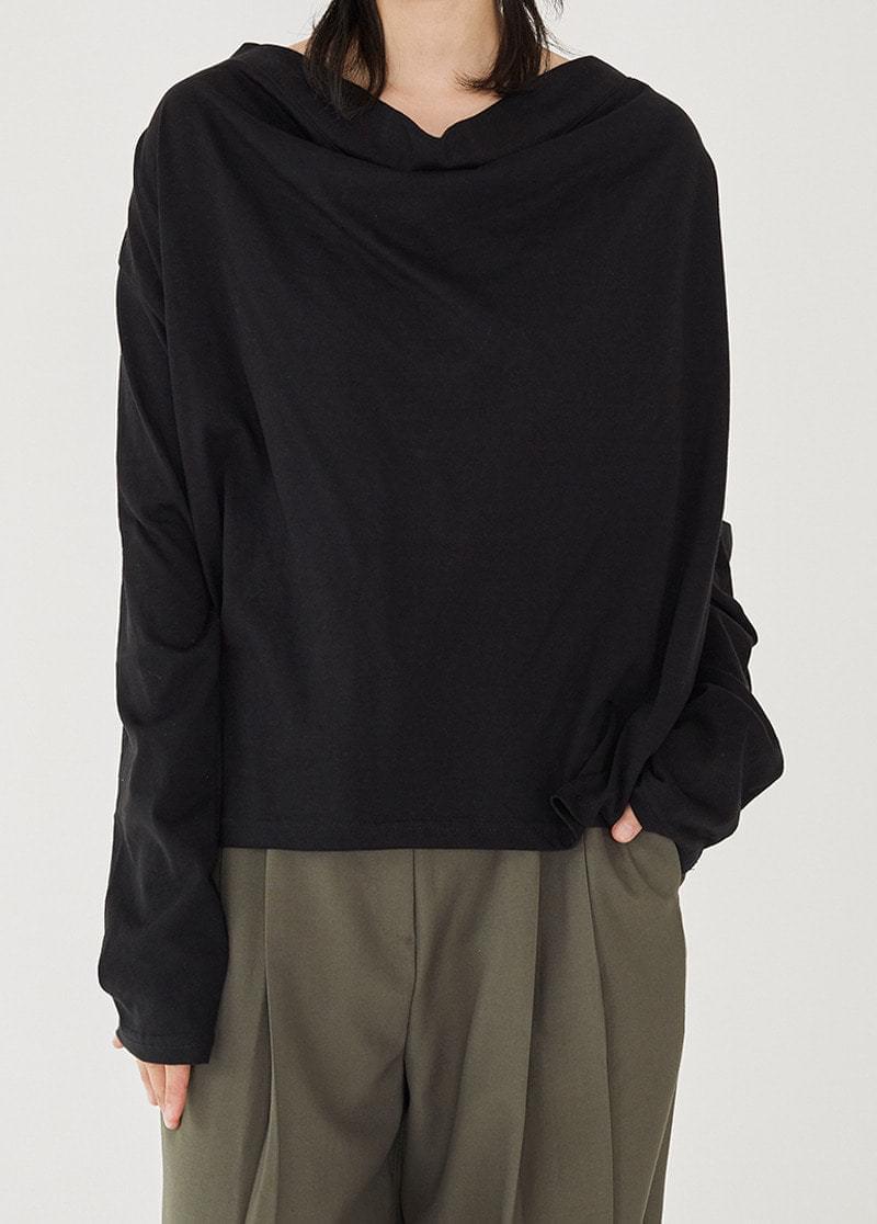 Basic Cowl Neck Top