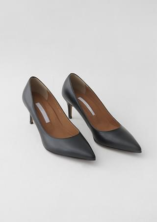 scent leather semi high-heels (4colors)
