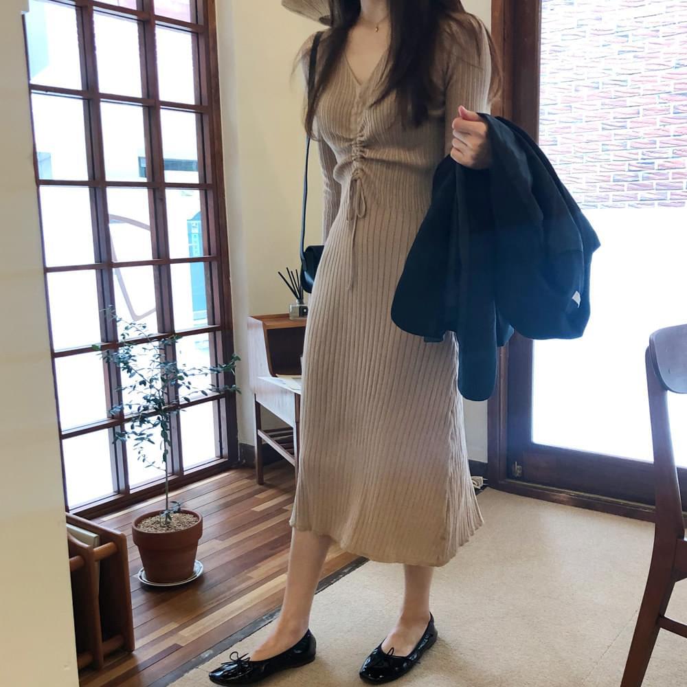 Flip Shearing Knit Dress