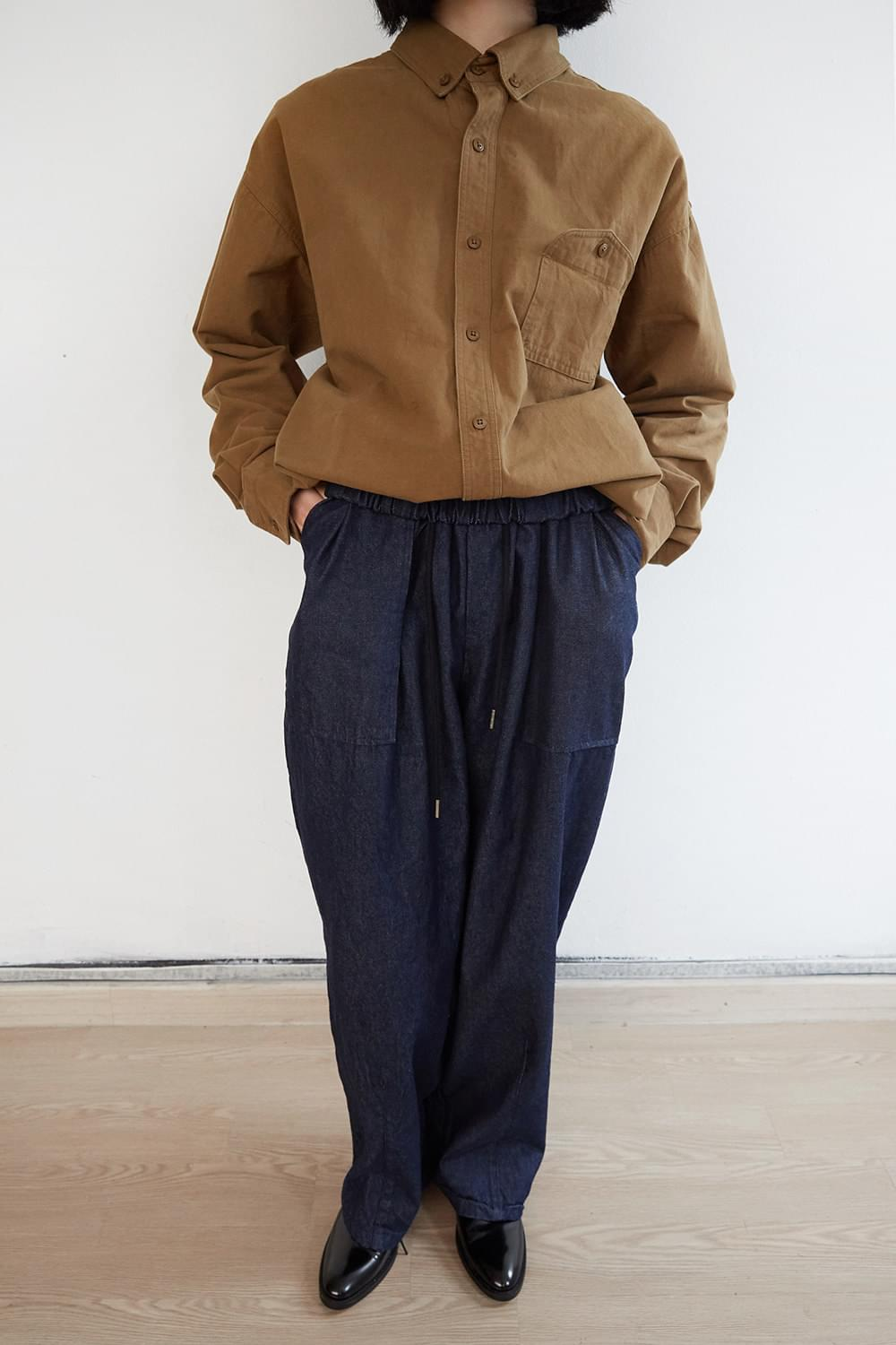 big pocket wide pants