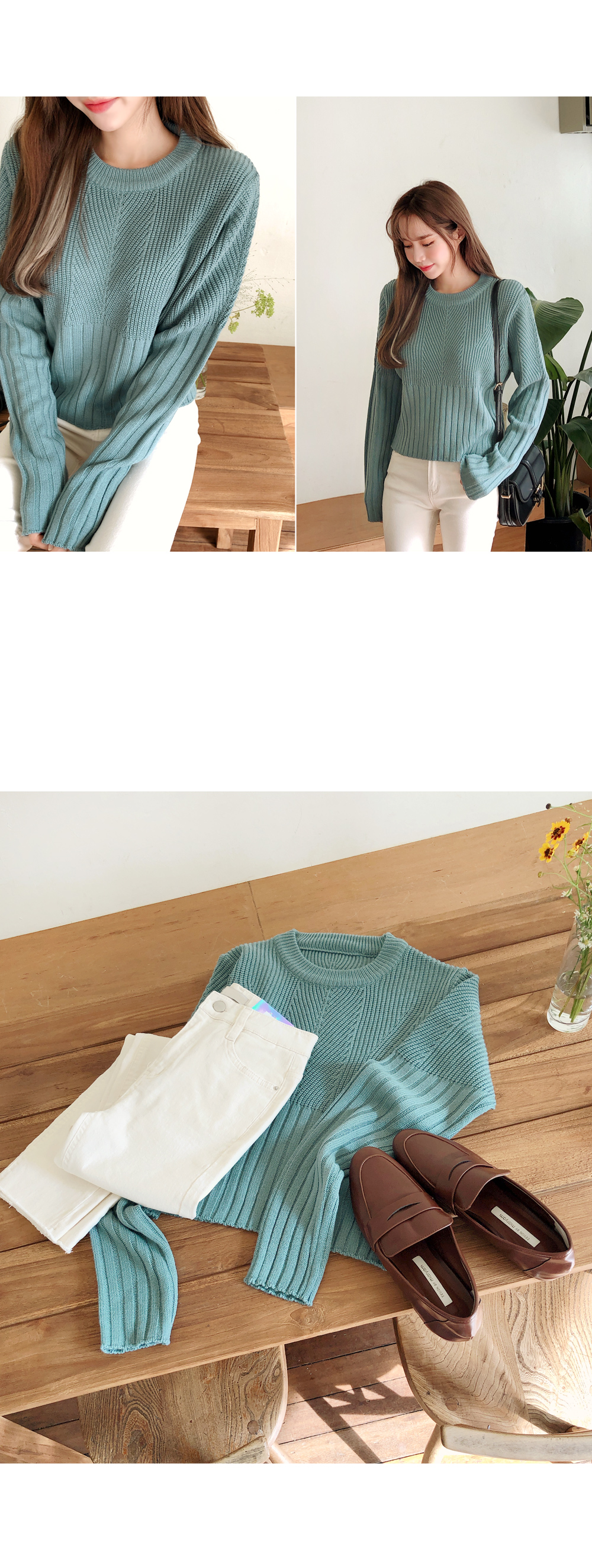 Round Style Knit