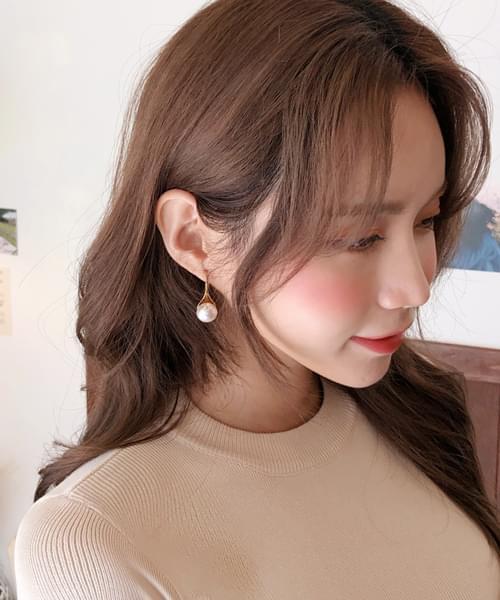 Wang Pearl Point Earrings