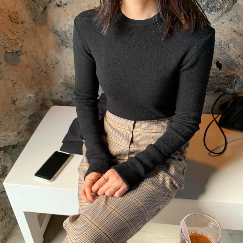 Softener knit black