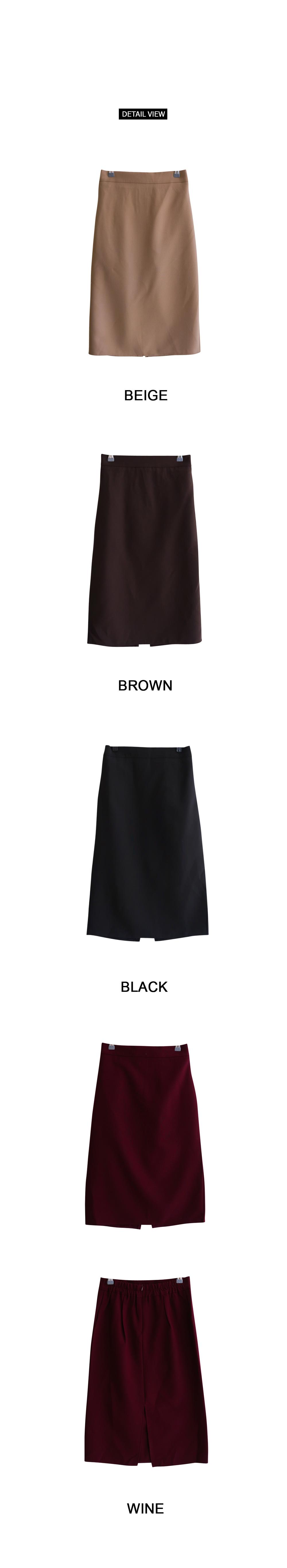 Nice slim long skirt