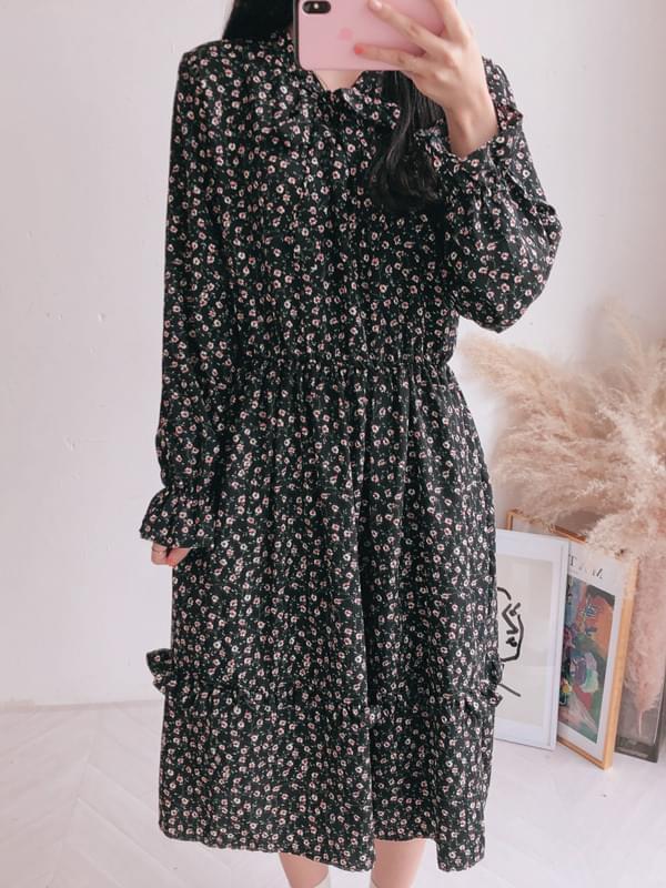 Marina floral dress