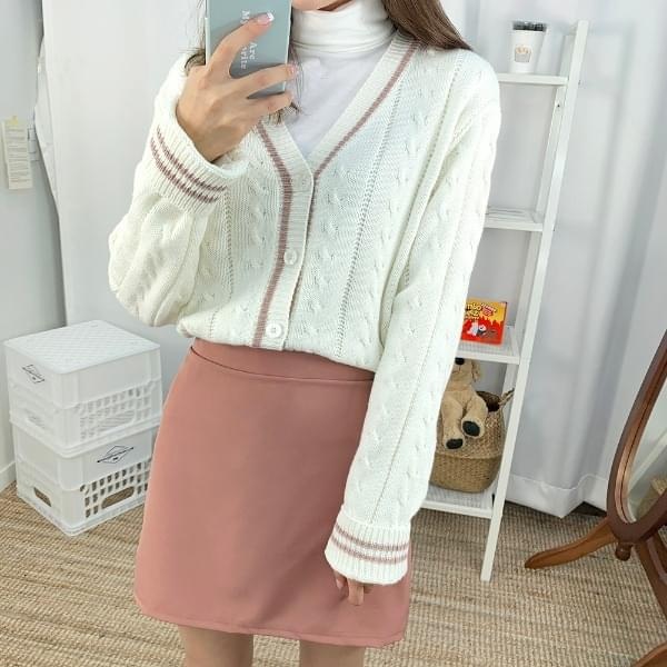 Alain lease knit cardigan