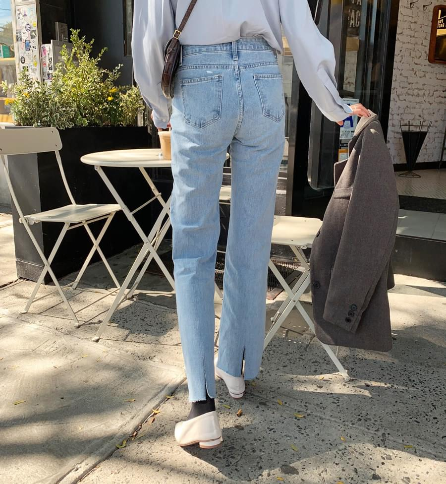 Back trim pants