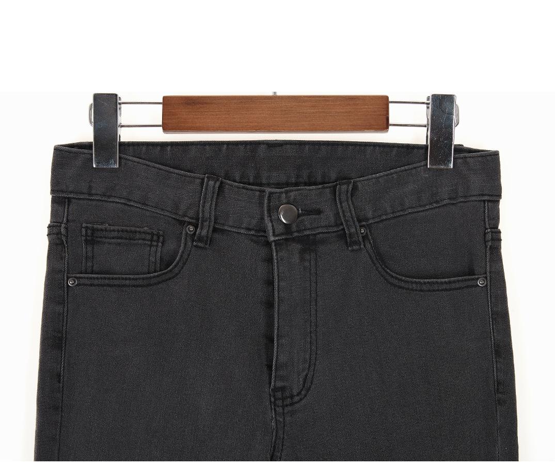 Semi Bootcut Black Blue Pants