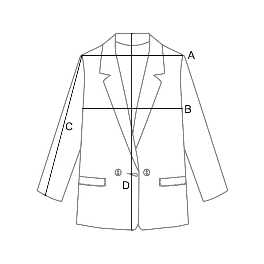 Vintage Scratch Blue Jacket * Mid March