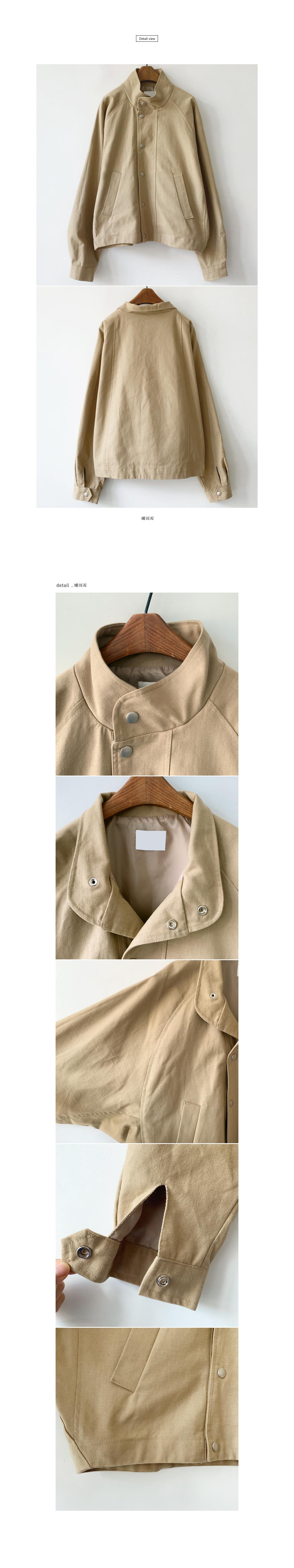 Farmer's cotton short jacket