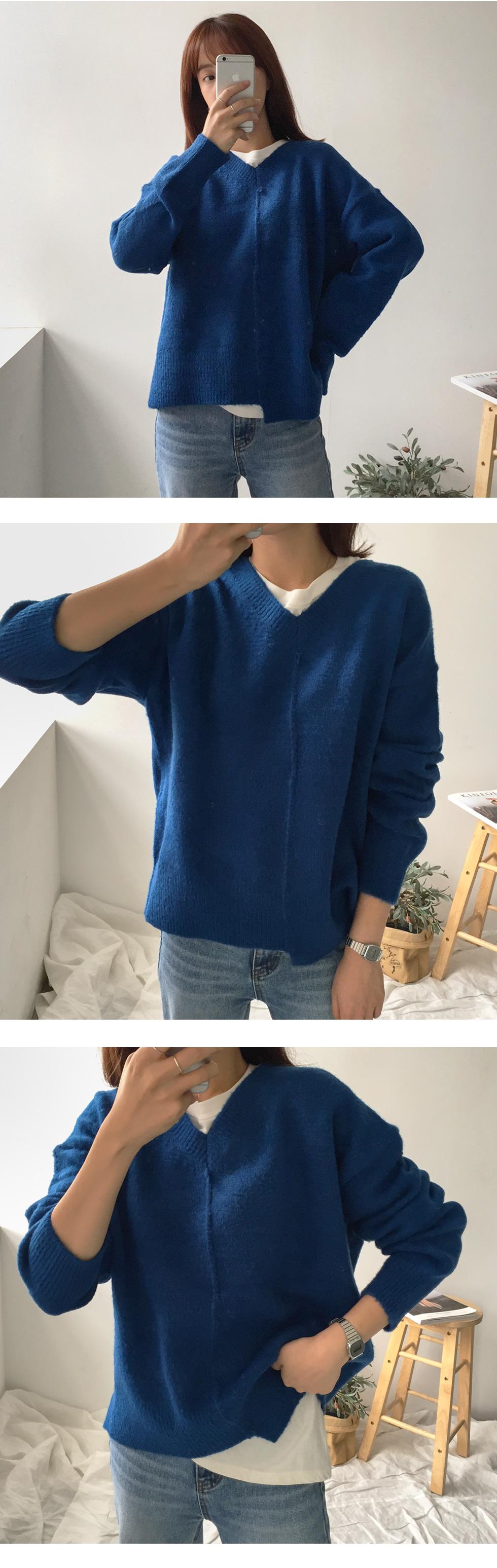 Uneven knit