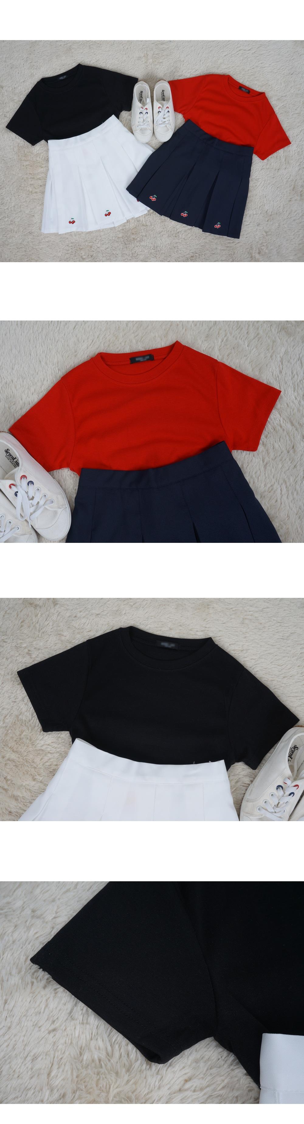 Short-sleeved T-shirt short sleeves T
