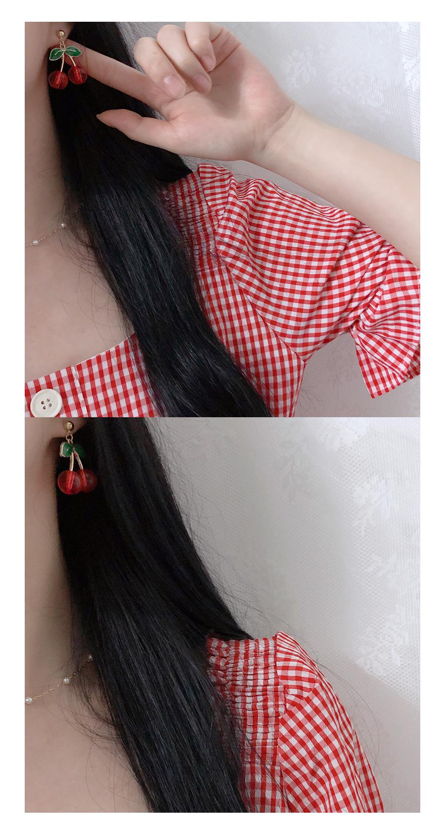 Planning Specials ♥ Yomi check off shoulder bl + mini sk