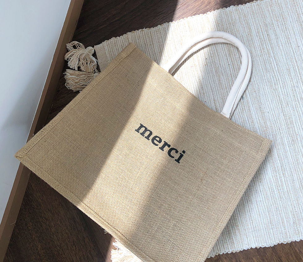 Square Merci Bag