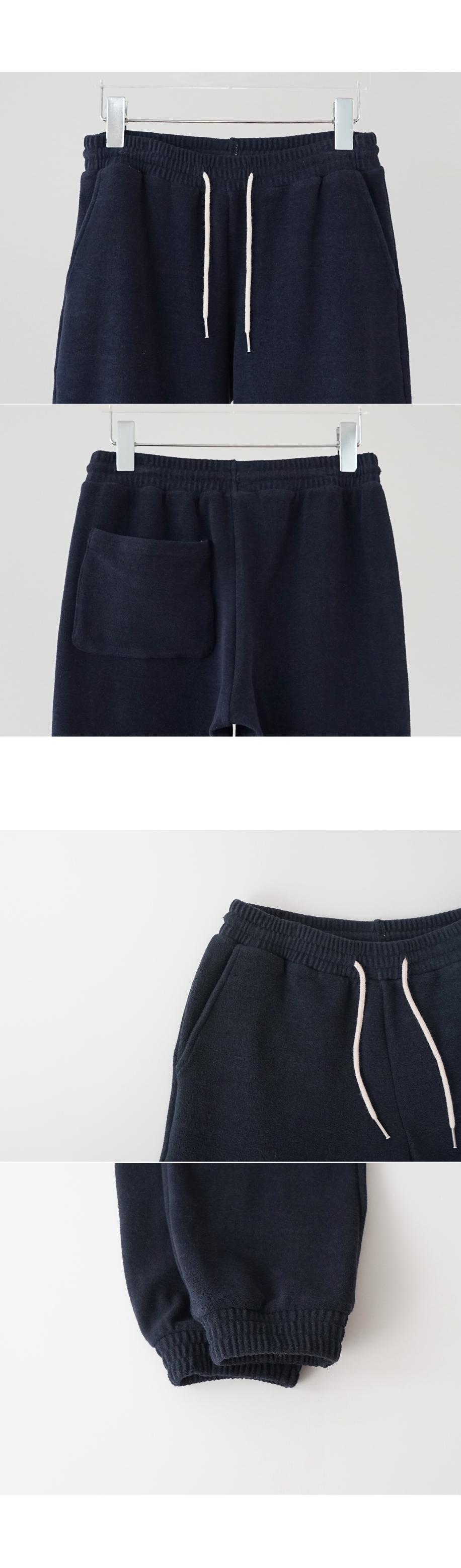 terry jogger pants (3colors)