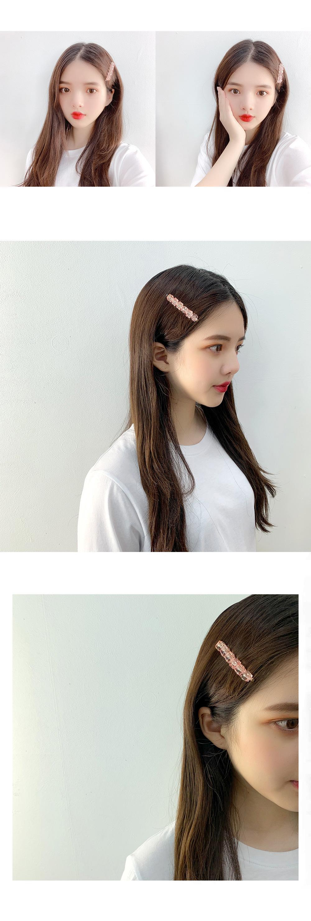 Collar bead hairpin