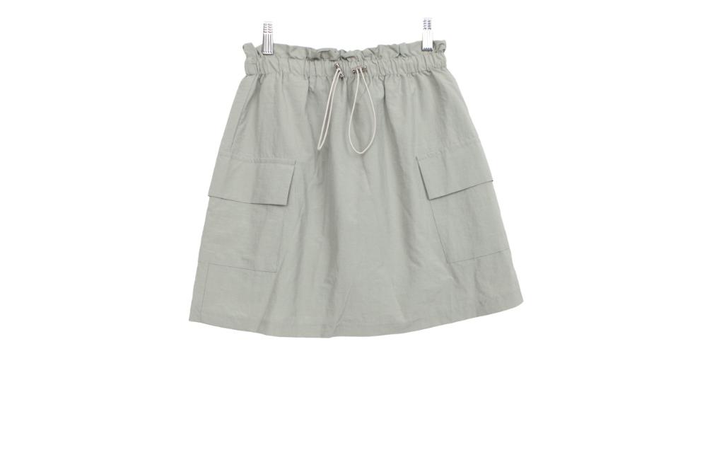 Cargo string skirt