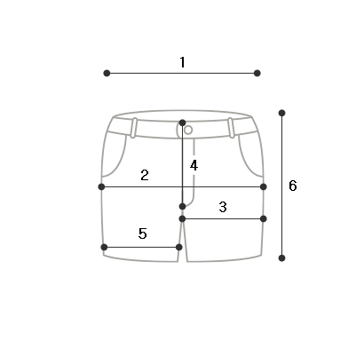 Tail Side Incision Short P