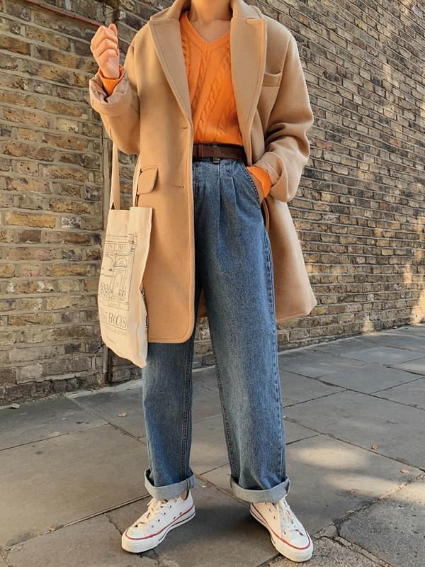 MMMM / Minimal Overfit Half Wool Coat