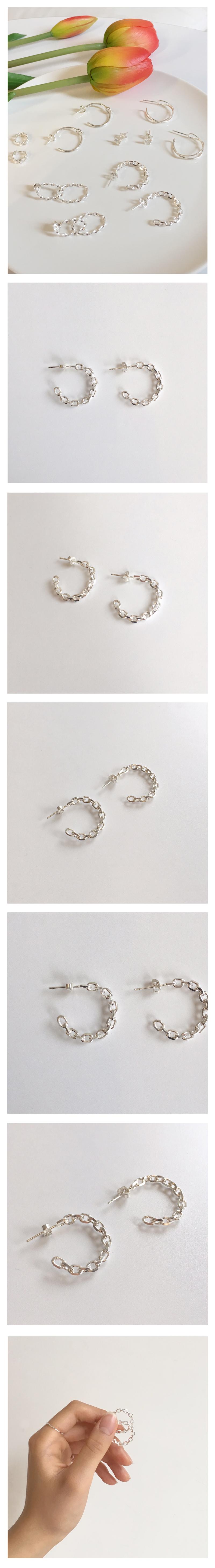 big chain earring