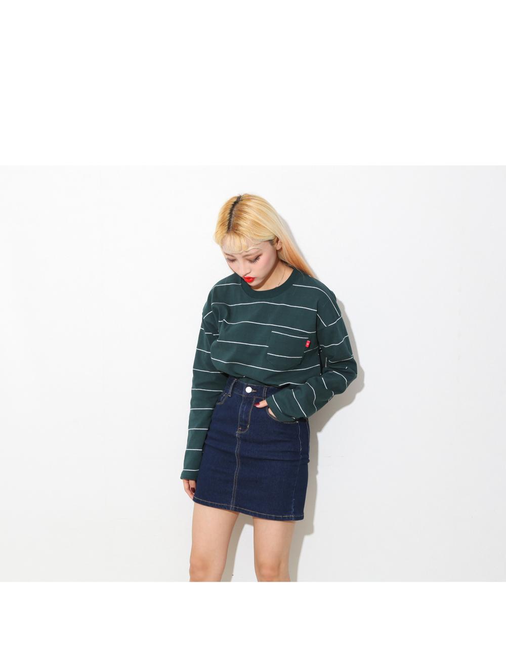 Wild dirt blue skirt # Cheong #