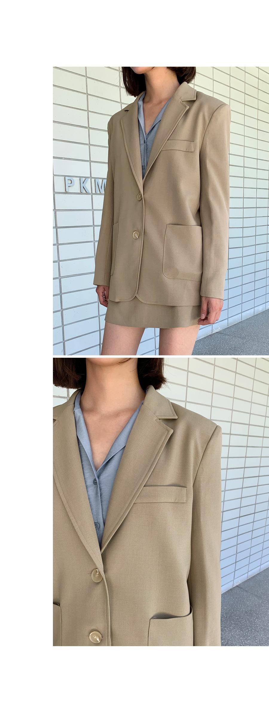 로그 자켓 (2colors)