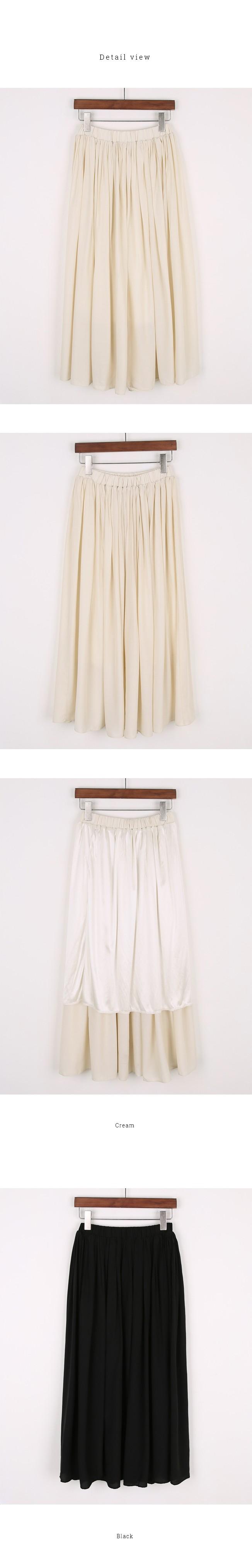 Lauren flared skirt