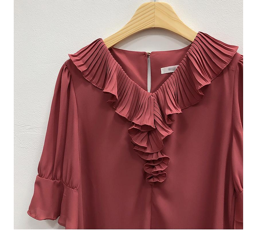Ives shearing blouse