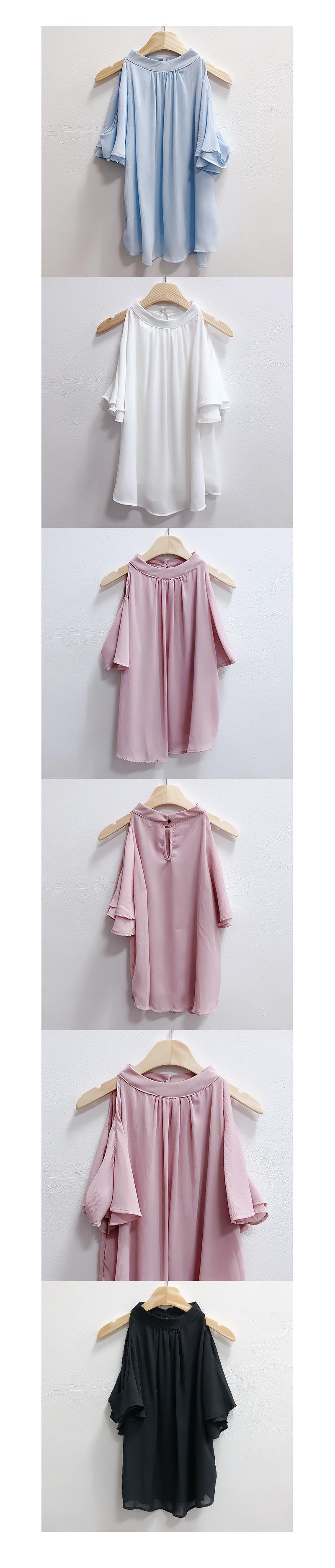 Planning special price, order rush ♥ Lara Land off shoulder blouse