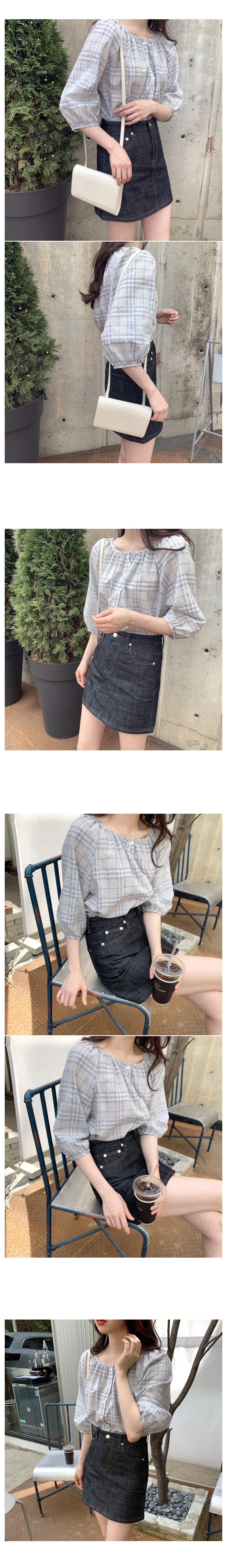 Dino Bottom Mini Skirt