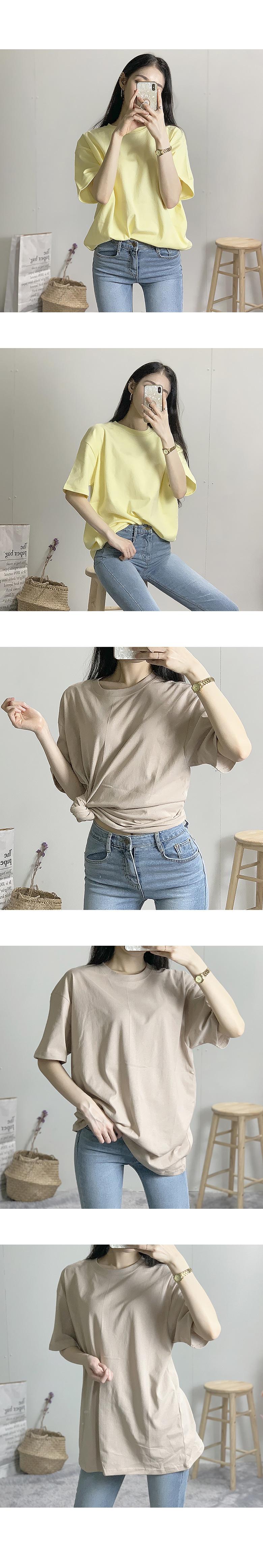 Basic Round Short Sleeve Tee