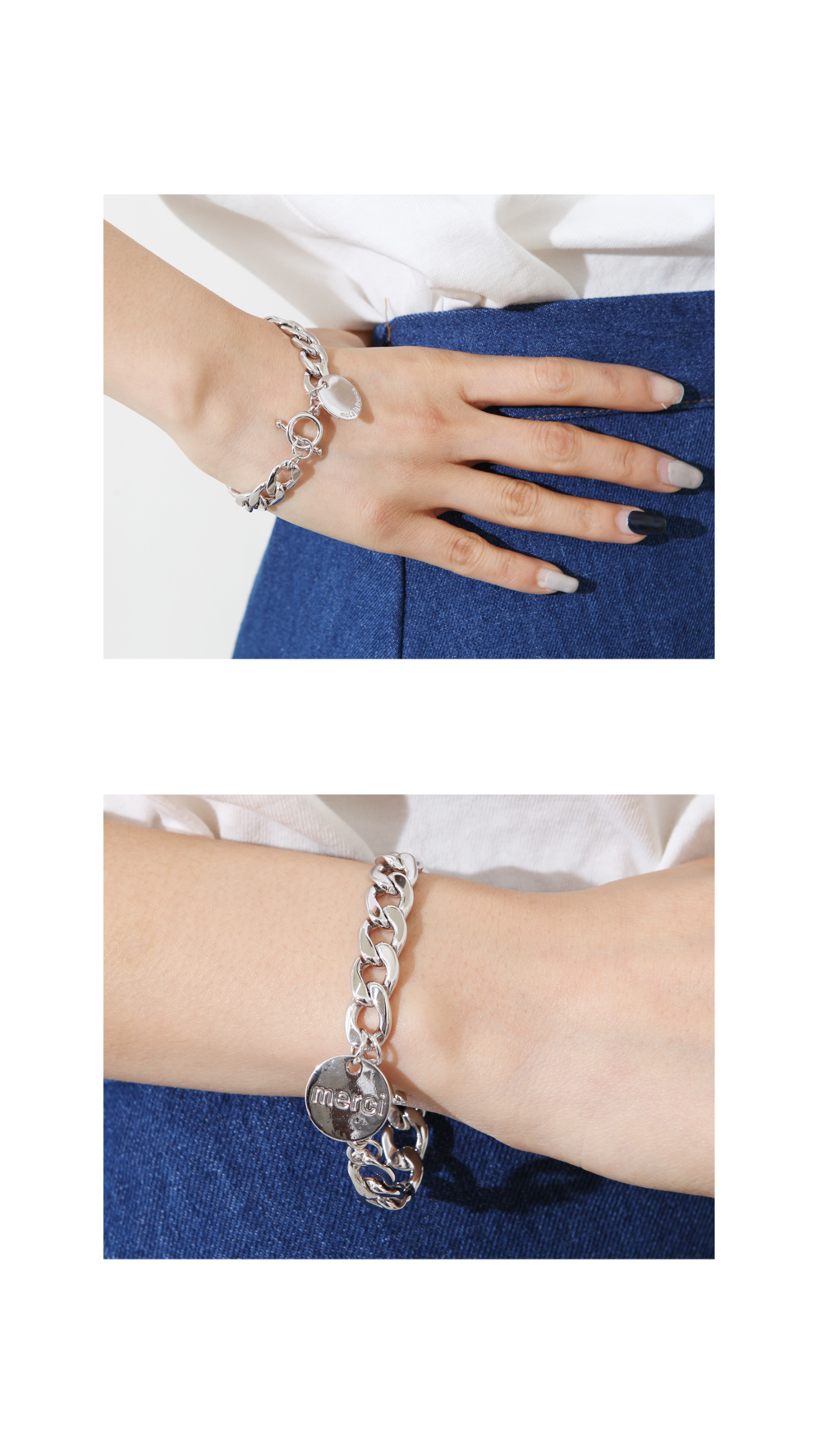 Merci Circle Bracelet