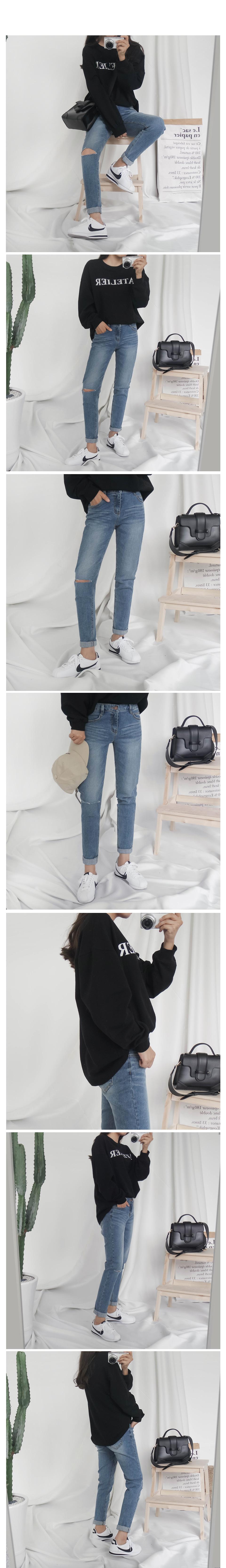 True slim exhaust pants