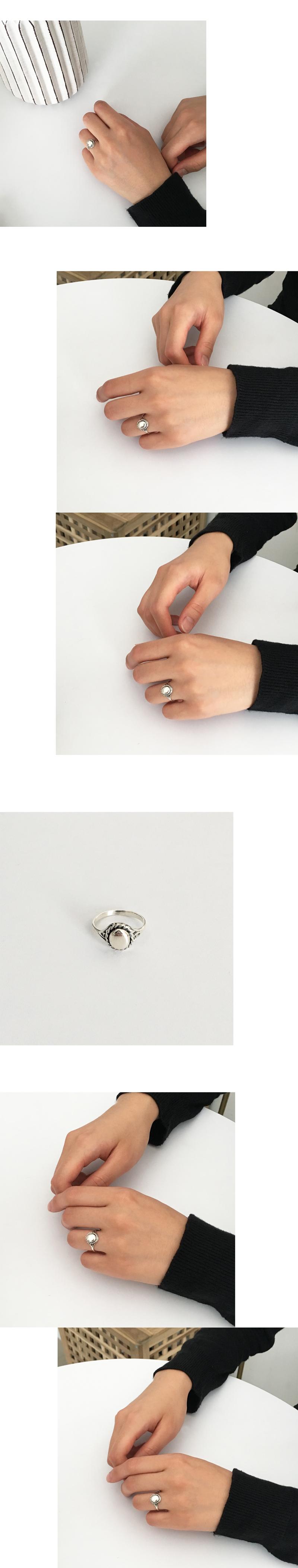 (silver925) elizabeth ring