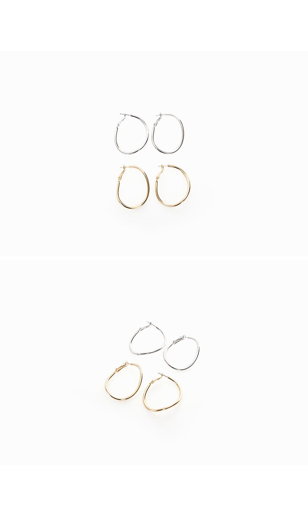 Fresh earrings
