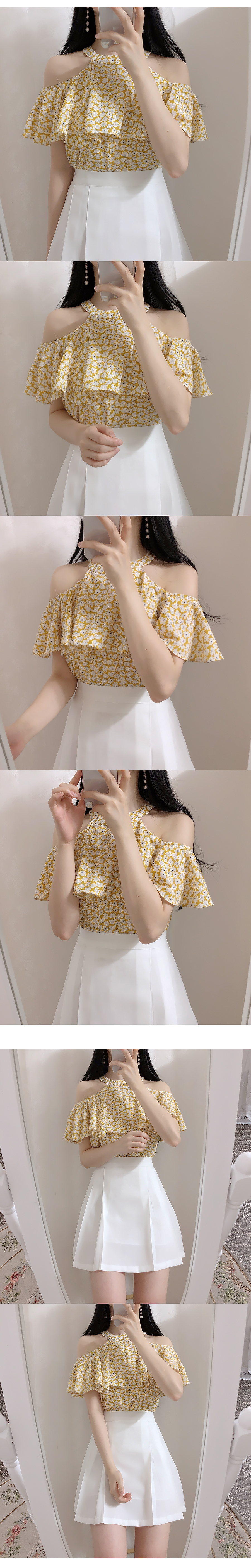 Self Made ♥ Joy Holter Shoulder blouse