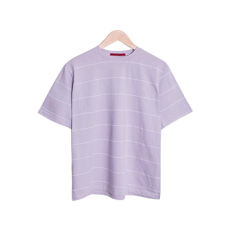 Ivy Cotton Stripe Basic T-Shirt [15Color]