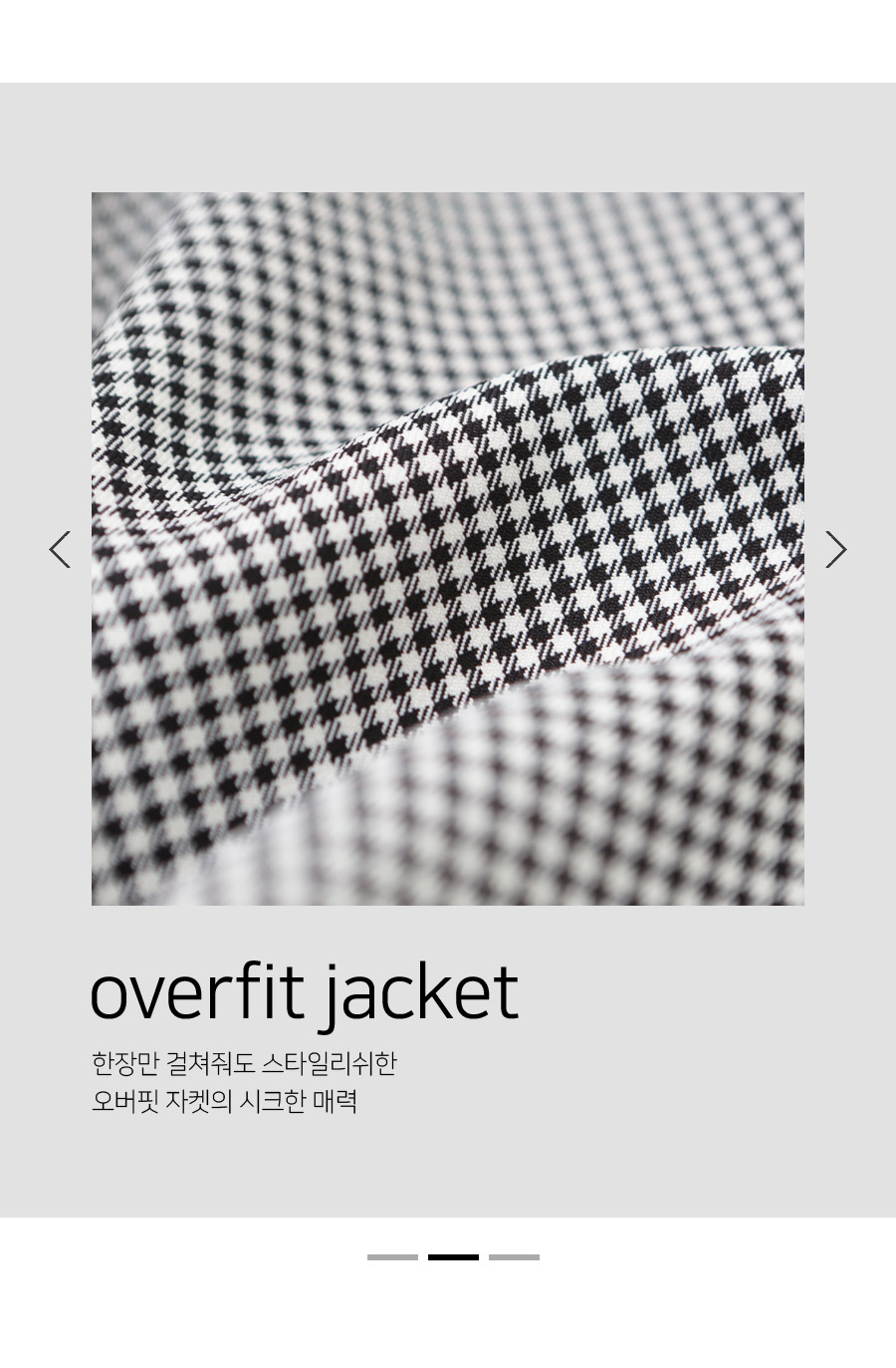 Oldin check o buffet jacket